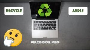 HOW I RECYCLE AN APPLE MACBOOK PRO AT AN EWASTE CENTER